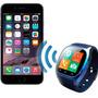 Relógio Inteligente Bluetooth Android Ios Sansung Sony
