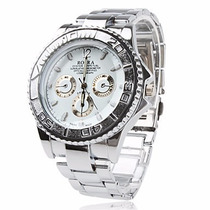 Relógio Masculino Pradeado Importado Exclusivo Promoção