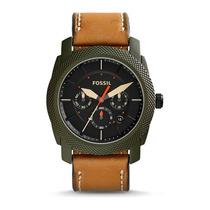 Relógio Masculino Fossil Machine Fs50410vn - Aço Inoxidável