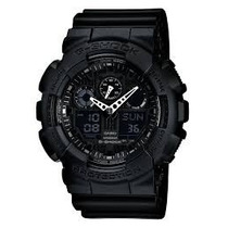 Relógio Casio G Shock Analog Digital Black Military Ga100