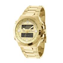 Relógio Ana-digi Dourado Technos 0527ab4x Grande