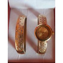 Relógio Bracelete Strass Feminino Ana Hickmann