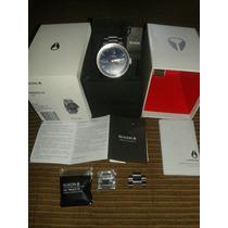 Relógio De Luxo Masculino Importado Nixon Private Original