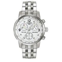 Relógio Tissot Prc200 - Branco - Original - Em 12x Sem Juros
