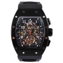 Relógio Richard Mille Todo Preto Frete Grátis + Brinde
