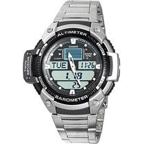 Relógio Casio Outgear Sgw-400-hd Altimetro Barometro - Aço