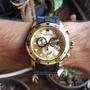 Relógio Original Invicta Pro Diver Plaque Ouro Crono 18040