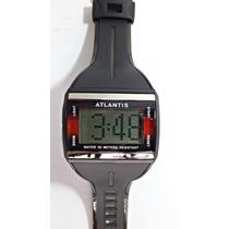 Relógio Atlantis Masculino Digital Wr 50 Metros 7202g