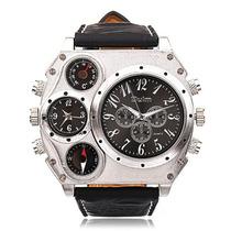 Relógio Militar Dual Time Bússola Termômetro Frete Grátis