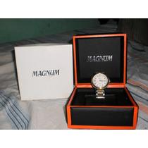 Relogio Magnum Modelo Ma32514 Original Semi Novo