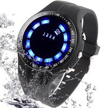 Relógio Design Diferente. Tvg Led De Luxo. Pronta Entrega.