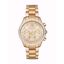 Relógio Feminino Michael Kors Dourado Mk6187 - Lindo