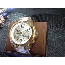 Relógio Mk Madre Pérola Sedex Gratis 12x Sem Juros