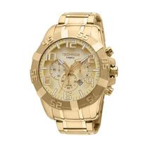 Relógio Technos Os20ik/4x - Cronógrafo Dourado 12x Sem Juros