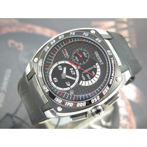 O R I E N T Relógio Orient Speedtech Crono Kers Aço Mbscc021