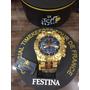 Relógio Festina Na Caixa Com Garantia 1 Ano Aprova Dagua