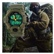 Relógio Masculino Militar Led A Prova Dagua Pronta Entrega