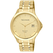 Relógio Technos Masculino Classic Executivo Slim 1s13bw/4x