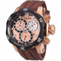 Relógio Magnum Masculino Ma33755z - Original - Frete Grátis