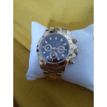 Relógio Rolex Ouro 18k Todo Funcional/ Prova D Agua