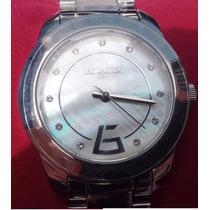 Relógio Lancaster Italiano Com Cristal Swarovski Guess Mk