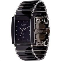 Relógio Masculino Technos Elegance Ceramic Preto Gn10ab/1p
