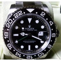 Relógio Eta A2836 Modelo Gmt Master Ii Dial Preto