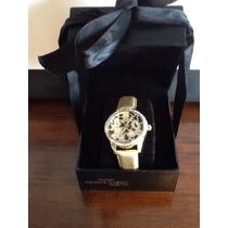 01 Relógio Feminino 100% Original Da Joalheria Monte Carlo