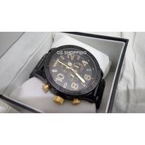 Relógio Nixon Chrono 51-30 Gun Black Original - Fotos Reais!