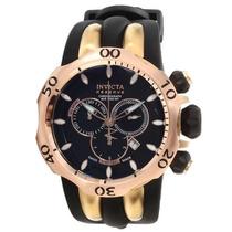 Relógio Invicta 10830 Venom Reserve Preto Rose Original.