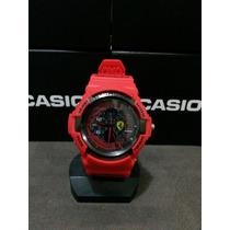 Relógio G Schock Casio Ferrari Vermelho Scuderia