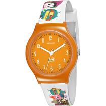 Relógio Infantil Seculus Feminino + 02 Jogos Educativos