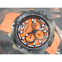 O R I E N T Relógio Orient Cronógrafo Quartzo Preto Pvd