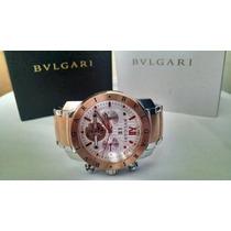 Relógio Bvlgari Na Caixa Com Garantia De 1 Ano Frete Gratis