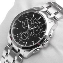 Relógio Tissot Original Prata Preto 05100 + Sedex Grátis