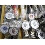 Relógio Masculino Do São Paulo Pulseira Inoxidavel