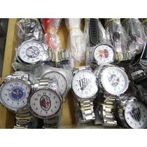 Relógio Masculino Do Palmeiras Pulseira Inoxidavel