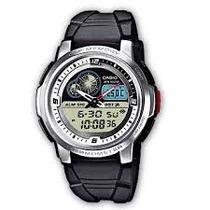 Relógio Casio Illuminator Aq-102w-7b