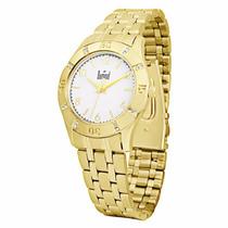 Relógio Dumont Dourado Modelo Sa85108/4b