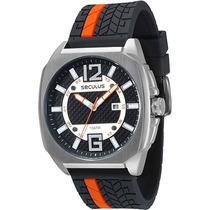 Relógio Masc. Seculus 100 Mts Original/garantia C/n.fiscal