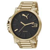 Relógio Masculino Puma 96217gppmda2 48mm Dourado