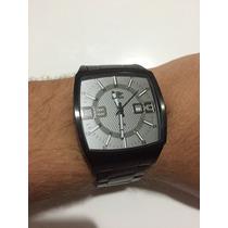 Relógio Mormaii Technos Preto Aço 10atm