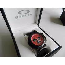 Relógio Analógico Masculino Oakley Crankcase - Original