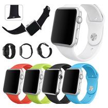 Apple Watch Pulseira De Silicone 42mm Sport Várias Cores