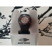 Relógio Mormaii Feminino Digital Yp9465/8q - Preto/rosa R25