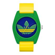 Relógio Adidas Originals Santiago Adh29498an Verde Amarelo