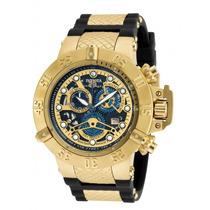 Relógio Masculino Invicta Subaqua 18526 Dourado - Promoção