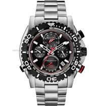 Relógio Bulova Precisionist 98b212 Chron Anal Prta Imaculada