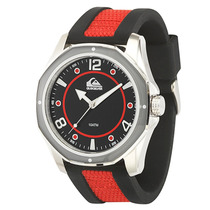 Relógio Masculino Quiksilver The Mariner Black Red