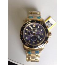 Relógio Invicta 0073 Original Ouro 18k Sem Caixa